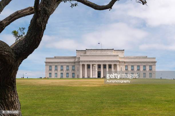 auckland war memorial museum - war memorial stock pictures, royalty-free photos & images