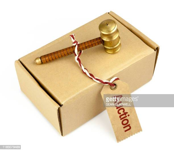 auction box - bid stock pictures, royalty-free photos & images