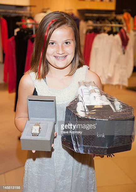 Auction winner attends the Project Ladybug/LK Bennett event at the Bloomingdale's The Shops at Riverside on May 31 2012 in Hackensack New Jersey