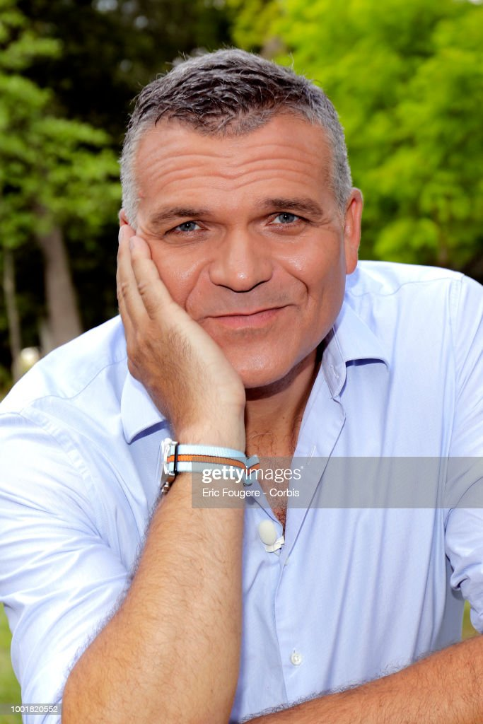 Auctioneer and expert on the show ' affaires conclues ' on France2, Jerome Duvillard poses during a portrait session in Cheverny, France on .