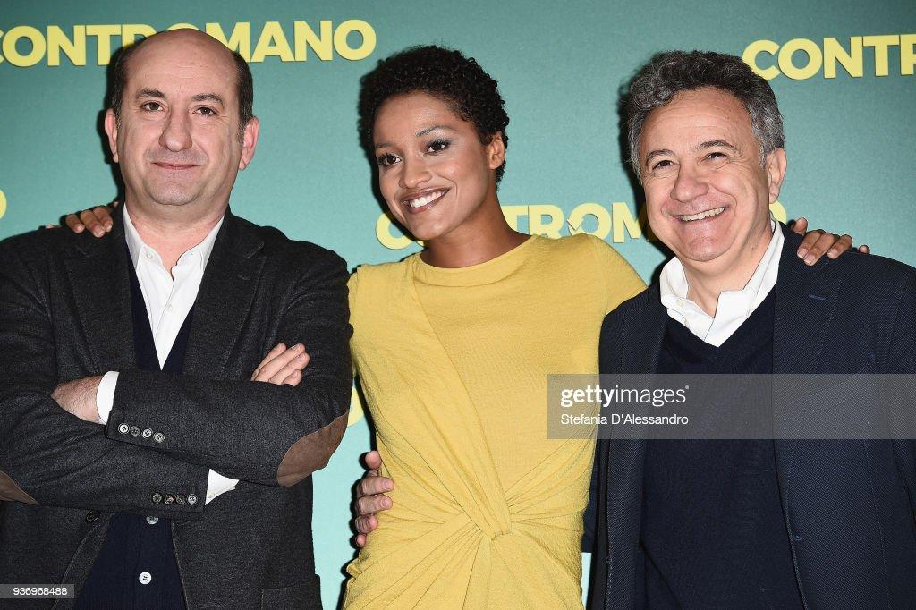 Contromano Photocall In Milan : ニュース写真