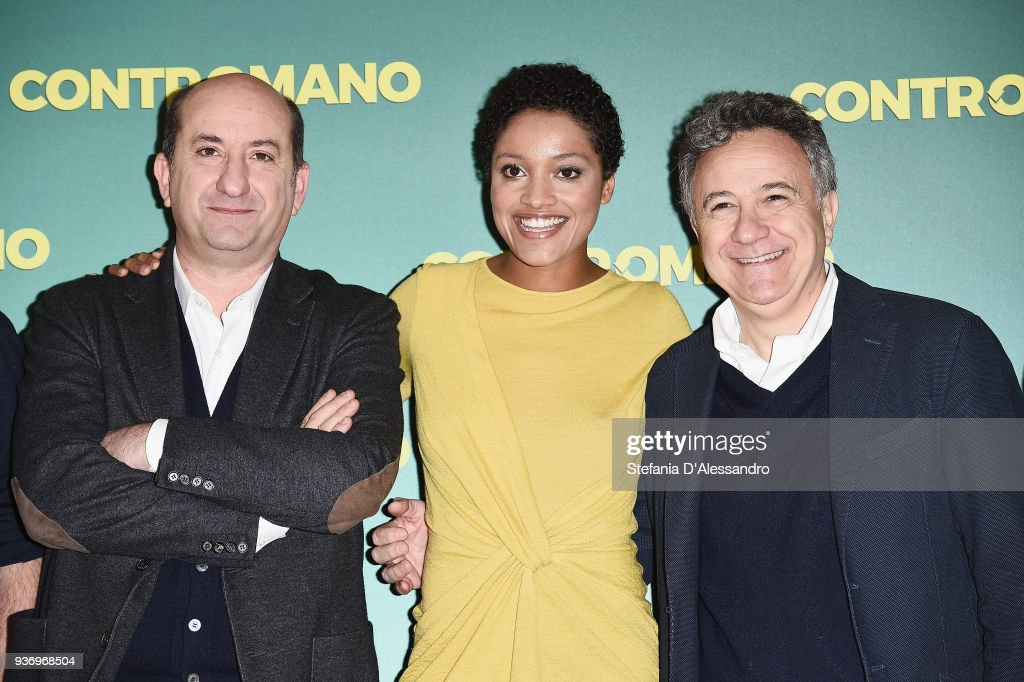 Contromano Photocall In Milan : ニュース写真