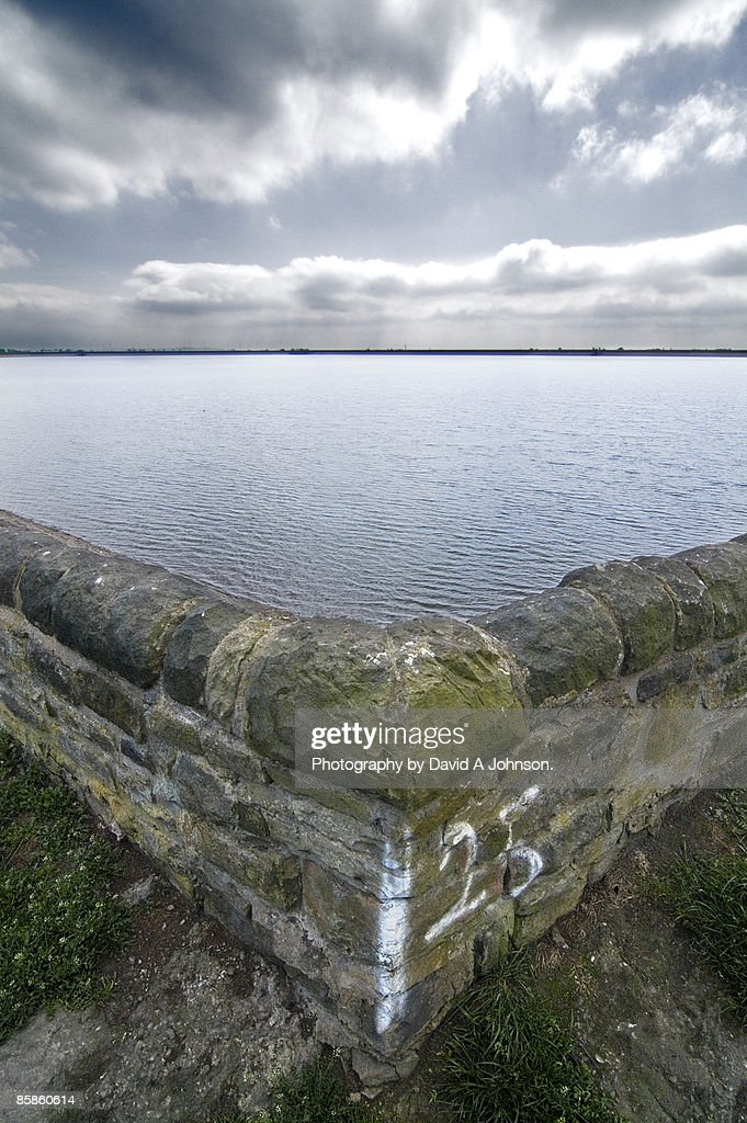 Audenshaw Reservoir-Manchester : Stock-Foto