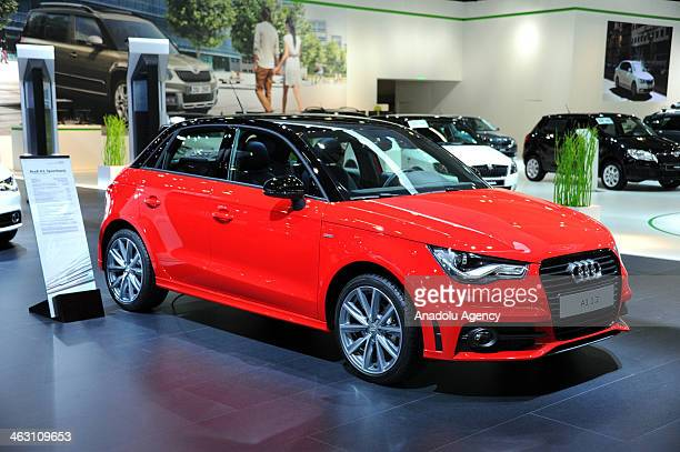 Audi A1 is presented during 92nd Brussels Motor Show , from 16 to 26 January 2014, at Brussels Expo at the Heysel in Brussels, Belgium, January 16,...