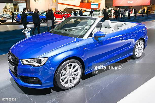 audi a3 cabriolet - audi stock pictures, royalty-free photos & images