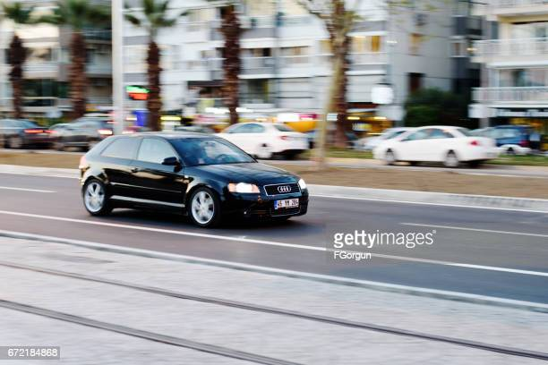 audi a3 - audi stock pictures, royalty-free photos & images