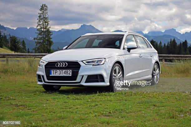 audi a3 vehicle - audi stock pictures, royalty-free photos & images