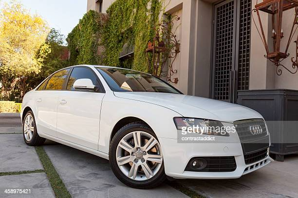audi a4 2009 - audi stock pictures, royalty-free photos & images