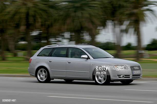 Audi A4 20L Wagon 29 March 2005 THE AGE DRIVE Picture by GARY MEDLICOTT