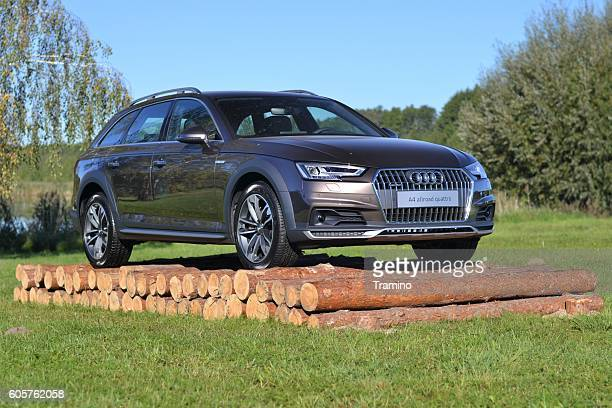 audi a4 allroad quattro - audi a4 stock photos and pictures