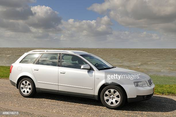 audi a4 avant - audi a4 stock photos and pictures