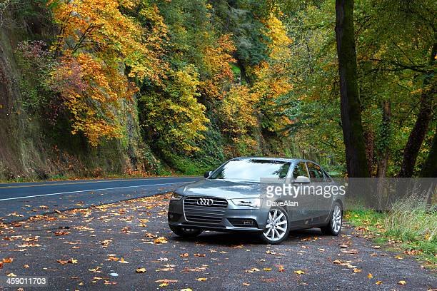 audi a4 quattro 2013. - audi a4 stock photos and pictures