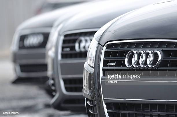 audi a4 quattro sedans - audi a4 stock photos and pictures