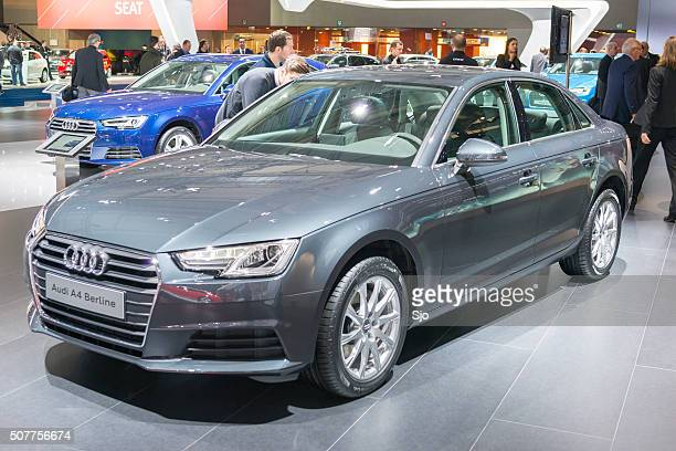 audi a4 berline luxury sedan car - audi a4 stock photos and pictures