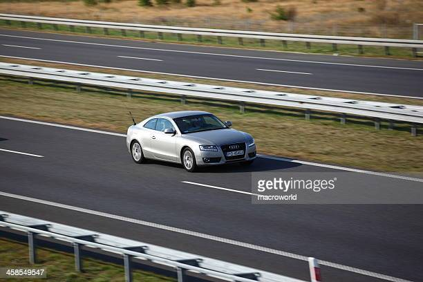audi a5 coupe - audi car stock photos and pictures