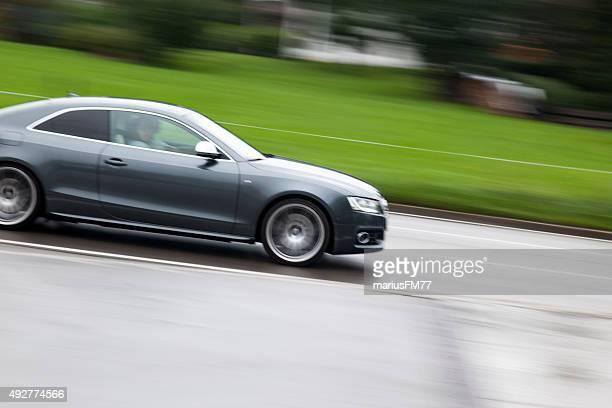 audi a5 sportback panning - audi car stock photos and pictures