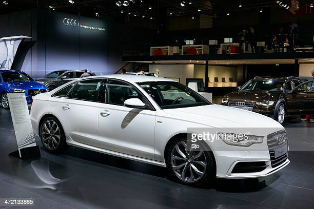 audi a6 berline - audi a6 stock photos and pictures