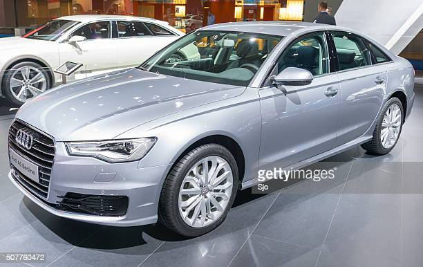 audi a6 berline sedan - audi a6 stock photos and pictures