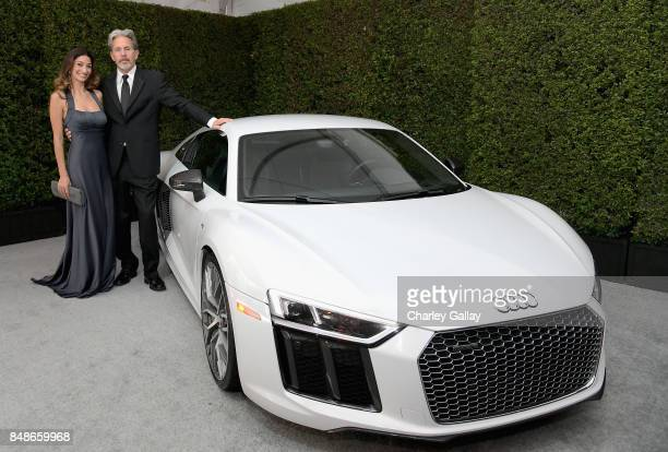 Audi arrivals at the 69th Emmy Awards on September 17 2017 in Los Angeles CA with actor Gary Cole and Crystal Mantecon