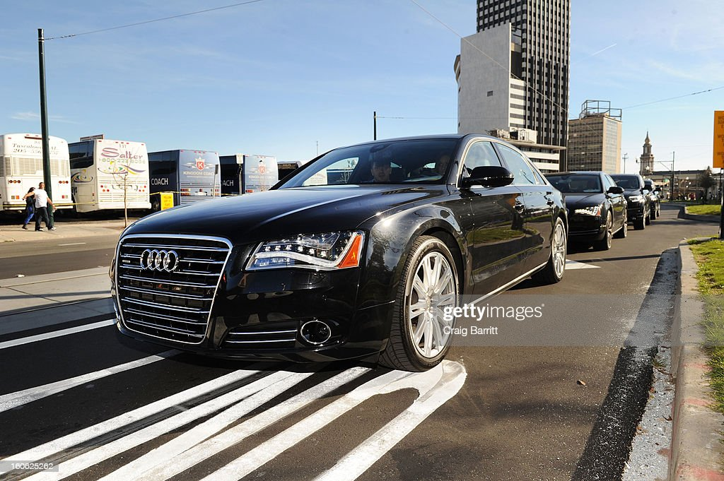 Audi Arrives At Super Bowl Photos And Images Getty Images - Audi new orleans