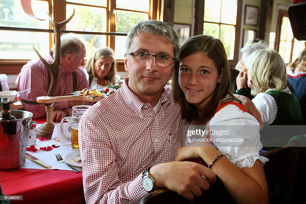 Audi CEO Rupert Stadler poses with his daughter Nicola in a beer tent at the Oktoberfest  sc 1 st  Getty Images & Audi CEO Rupert Stadler poses with his d Pictures | Getty Images