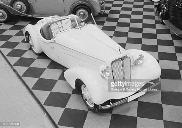 Audi Front-Sport car at Berlin Exhibition Photograph taken during Berlin Automobile Exhibition, 1935.