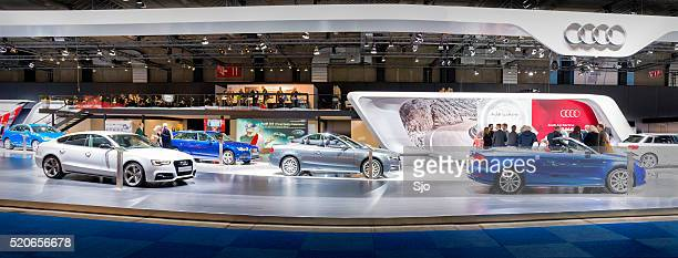 Audi motor show stand panorama
