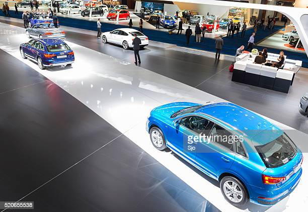 Audi motor show stand