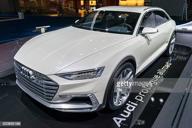 Audi Prologue Allroad concept car