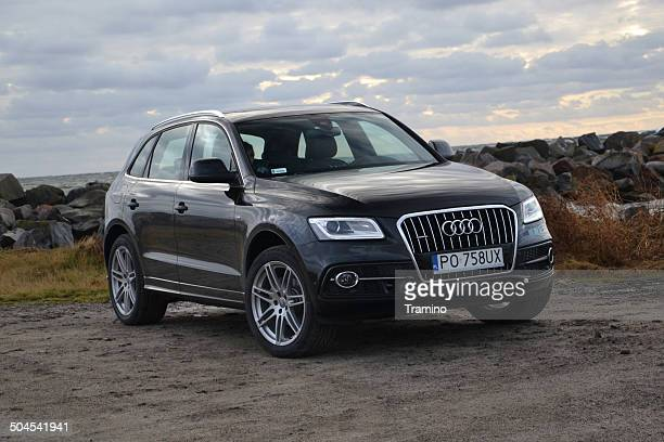 audi q5 fl at the test drive - audi stock pictures, royalty-free photos & images