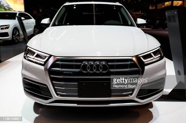 Audi Q5 is on display at the 111th Annual Chicago Auto Show at McCormick Place in Chicago Illinois on February 7 2019