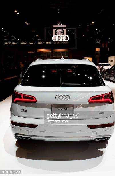 Audi Q5 is on display at the 111th Annual Chicago Auto Show at McCormick Place in Chicago, Illinois on February 7, 2019.