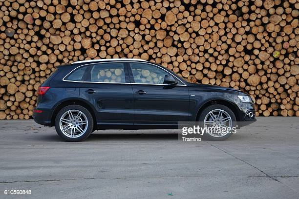 Audi Q5 on the road