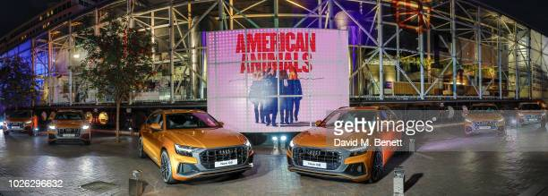 Audi Q8 Makes its Big Entrance to Verdi, Performed by a Live Orchestra at BFI Southbank on September 2, 2018 in London, England.