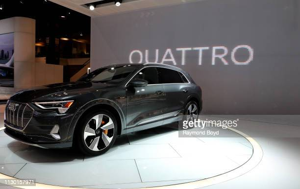Audi Quattro is on display at the 111th Annual Chicago Auto Show at McCormick Place in Chicago Illinois on February 7 2019