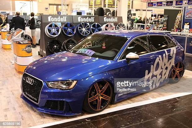 Audi Quattro on display at the Essen Motor fair grounds The motor show presents motorcycles cars and tuning parts from over 500 exhibiting companies...