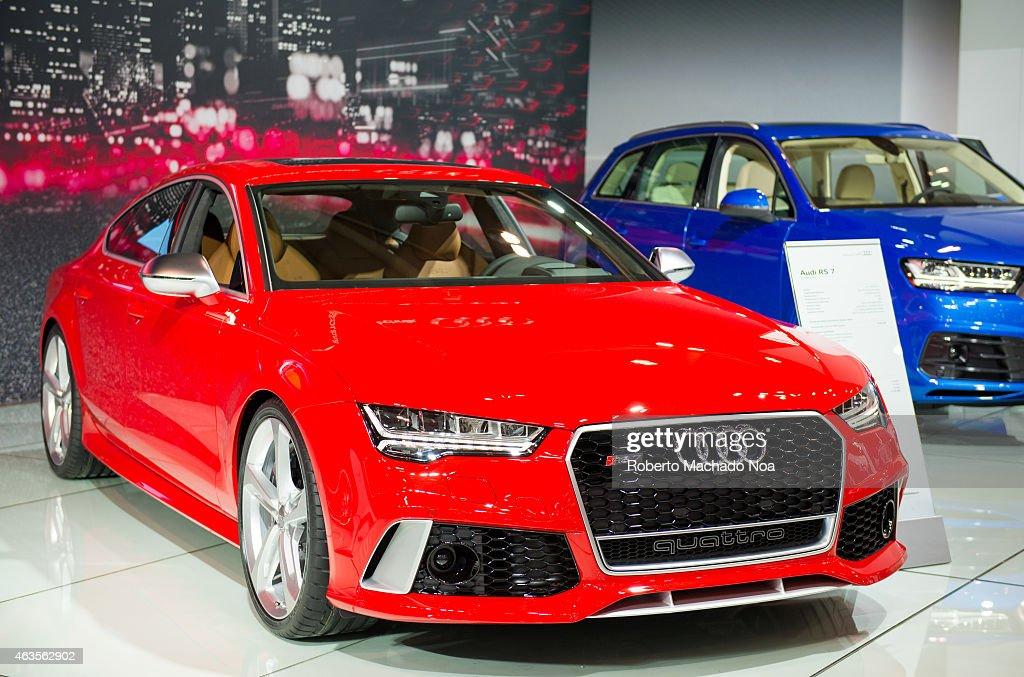 Audi Quattro RS In The Canadian International AutoShow - Audi toronto
