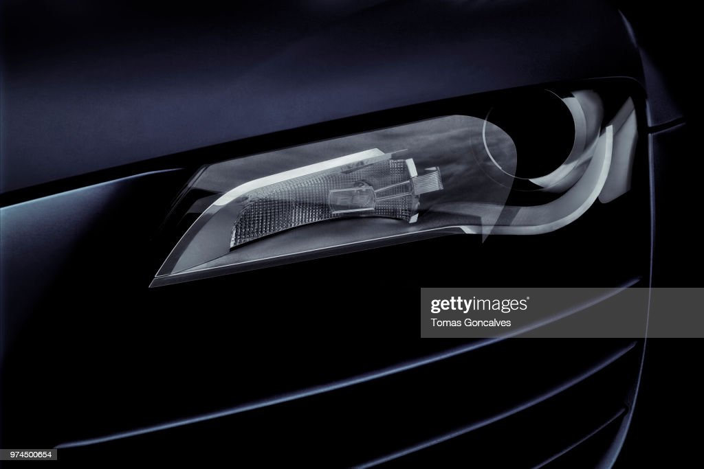 Audi R8 - Detail : Stock Photo