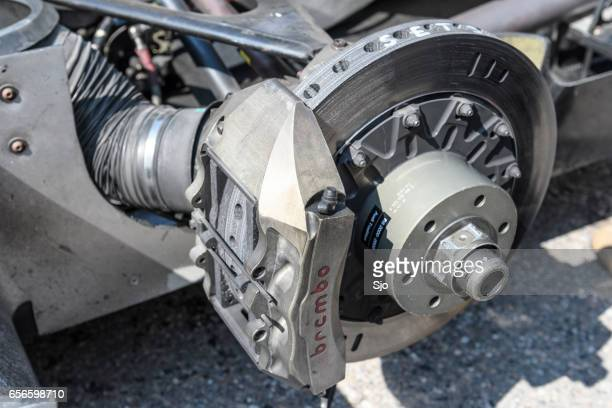 Audi R8 Le Mans Prototype sports-prototype race car brake