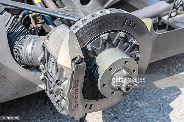 Audi R8 Le Mans Prototype sports-prototype race car Brembo brake