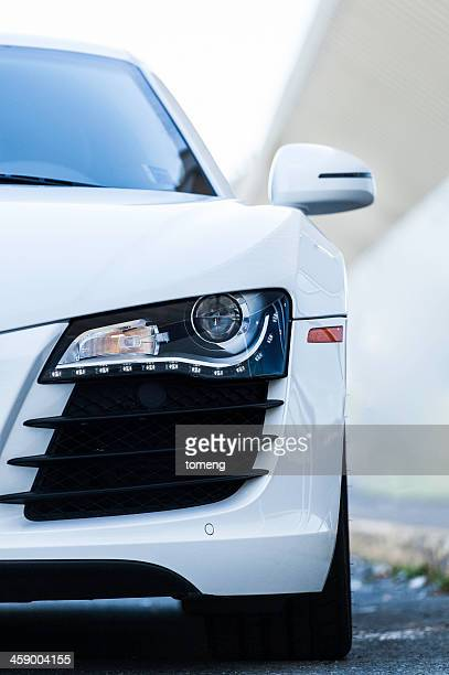 audi r8 - audi stock pictures, royalty-free photos & images