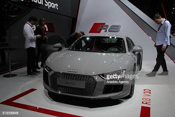 Audi R V Stock Photos And Pictures Getty Images - Audi r9