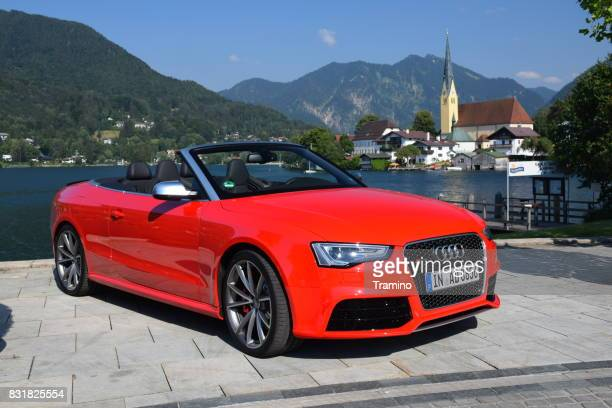 Audi RS5 Cabrio on the street