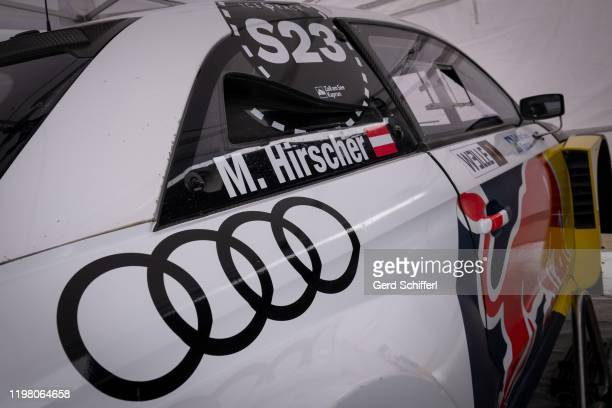 Audi S1 EKS WRX quattro of Marcel Hirscher of Austria during the GP ICE RACE on February 2, 2020 in Zell am See, Austria.