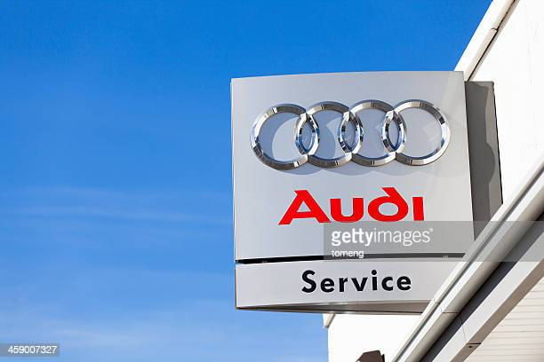 audi service center - audi stock pictures, royalty-free photos & images