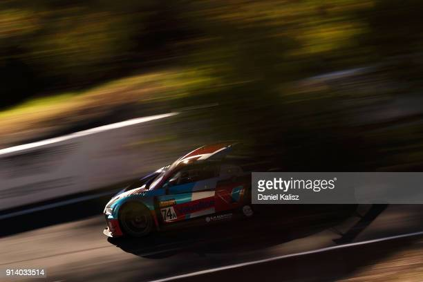 Christopher Mies Christopher Haase Markus Winkelhock drives during the 2018 Bathurst 12 Hour Race at Mount Panorama on February 4 2018 in Bathurst...