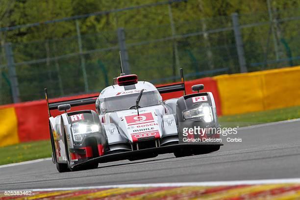 Audi Sport Team Joest Audi R18 etron quattro of Felipe Albuquerque / Marco Bonanomi / Rene Rast in action during Round 2 of the 2015 FIA World...