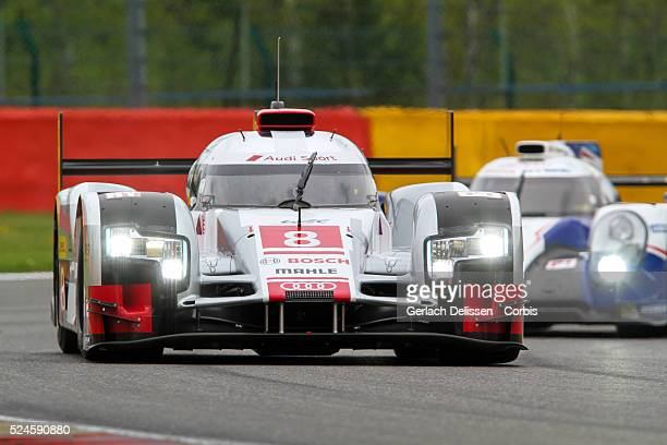 Audi Sport Team Joest Audi R18 e-tron quattro of Lucas Di Grassi / Loic Duval / Oliver Jarvis in action during Round 2 of the 2015 FIA World...