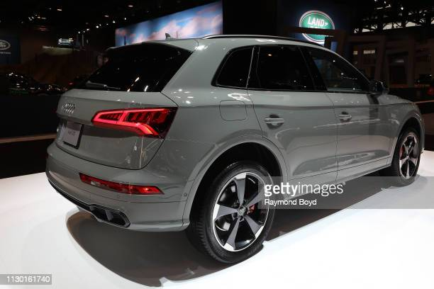 Audi SQ5 is on display at the 111th Annual Chicago Auto Show at McCormick Place in Chicago Illinois on February 7 2019