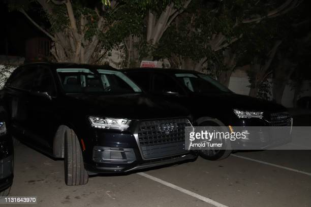 Audi Suv on display at Common's 5th Annual Toast to the Arts at Ysabel on February 22 2019 in West Hollywood California